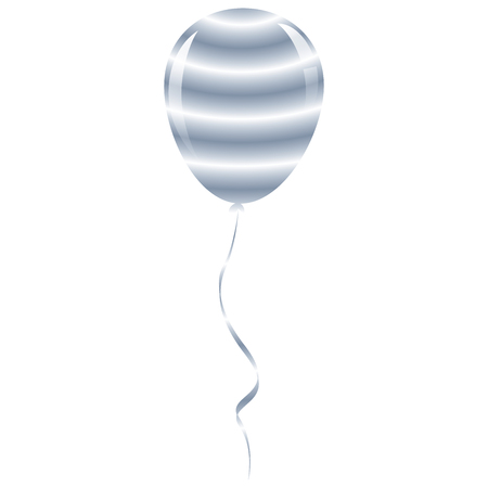 candy prison balloon ribbon fantasy isolated  Vector