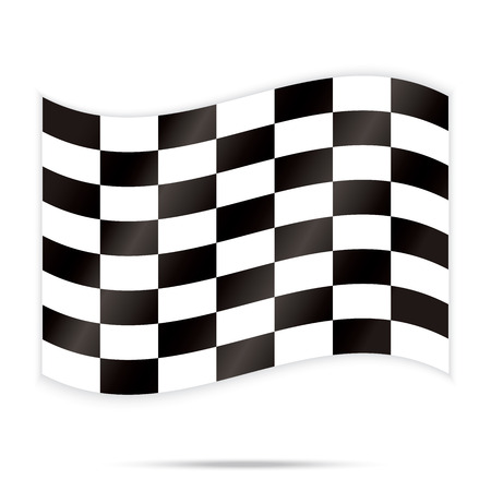 popular checker chess square abstract racing background vector Stock Vector - 23774537