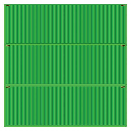 vector popular cargo green container shipping freight isolated texture pattern background Vector