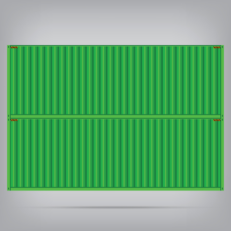 dockyard: vector popular cargo green container shipping freight isolated texture pattern background Illustration