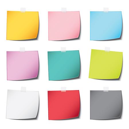 multiplicar: mensaje populares color de la nota de papel vintage y sombra realista con multiplicar el fondo blanco aislado