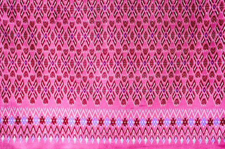 batik sarong  pattern background in Thailand, traditional batik sarong in Asian photo
