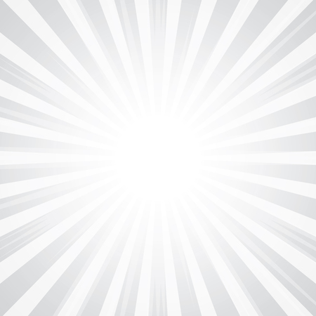 popular abstract white rays background television vintage Vector