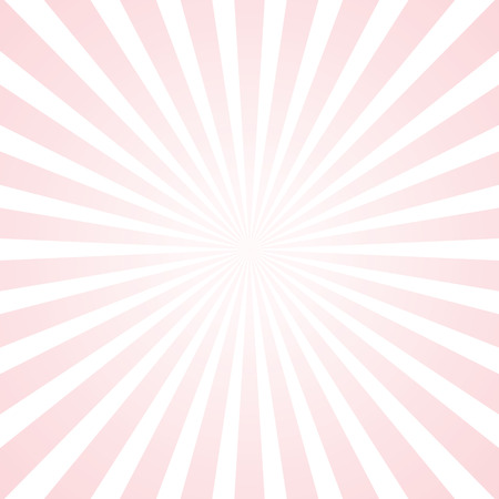 full moon effect: popular abstract pink and white rays background television vintage