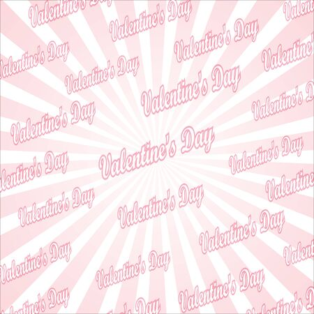 love explode: popular abstract pink and white rays background television vintage