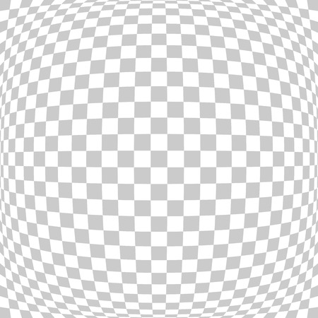 gray texture background: abstract square tile perspective fish eye lens white and gray texture background same transparency grid