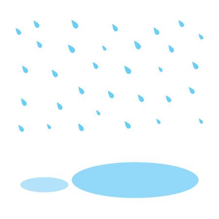 kropla deszczu: raindrop and water in rainy