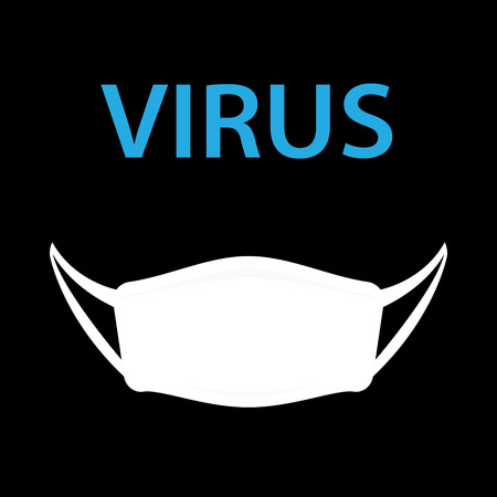 virus with hygiene mask