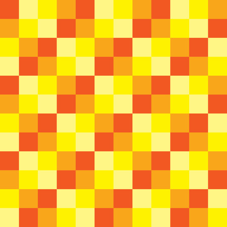 checker: popular summer color tone checker chess square abstract texture background Illustration