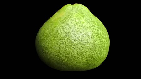 close-up green pomelo of thailand fruit