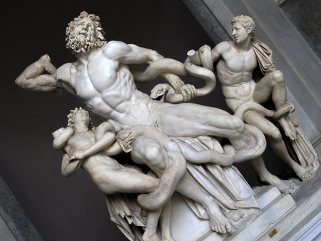 prototypical: Laocon and His Sons, Vatican Museums, Vatican City
