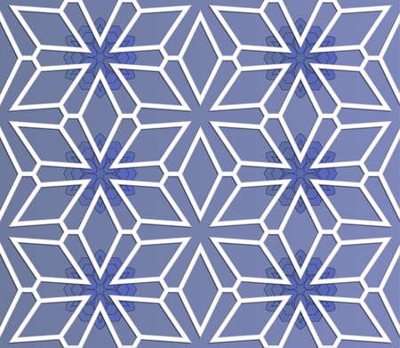 mesh: Seamless background - mesh pattern with shadows. Structure 3D. Drawing under the mesh. Vector illustration EPS10.