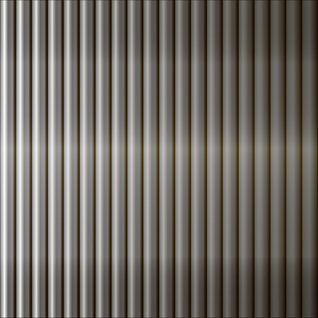 metal black: Abstract  background  fence of metal bars. Vector EPS 10.
