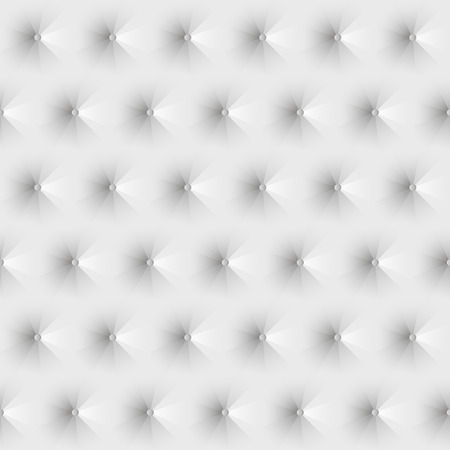 appearance: Seamless texture upholstery white leather.