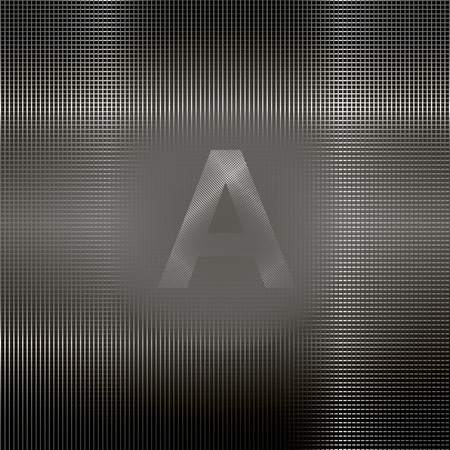 metal mesh: Abstract background - a metal mesh. Placement of recording in the middle. Vector EPS 10.
