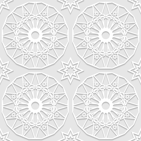 east indian: Seamless white 3D pattern, arabic motif, east ornament, indian ornament. Endless texture can be used for wallpaper, pattern fills, web page  background,surface textures.