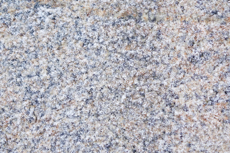 granite slab: Winter background stone granite slab covered with frost. Closeup. Stock Photo