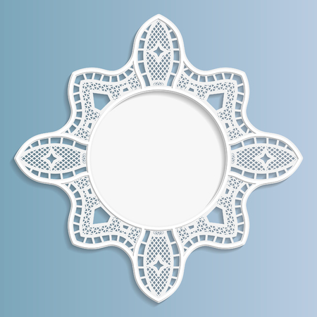 bas relief: 3D bas-relief frame, vignette with ornaments,   festive pattern, white pattern, template greetings