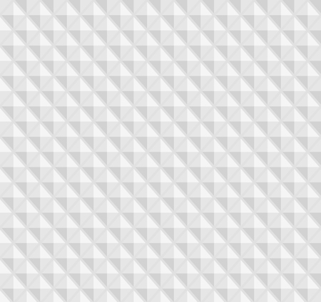 ribbed: White seamless geometric pattern, ribbed surface, rhombs the figures Illustration