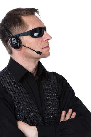 The secret agent, secret service Stock Photo