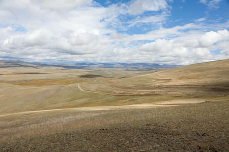 The state border between Rosiey and Mongolia Stock Photo - 16872799