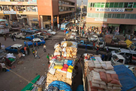 addis: the largest market in Africa Merkato