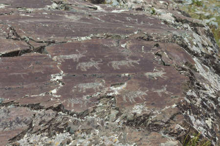 antiquity: Rock paintings from the Bronze Age