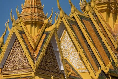 penh: The Royal palace in Phnom Penh, Cambodia. Editorial