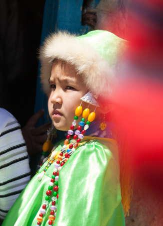 Little girl Mongol
