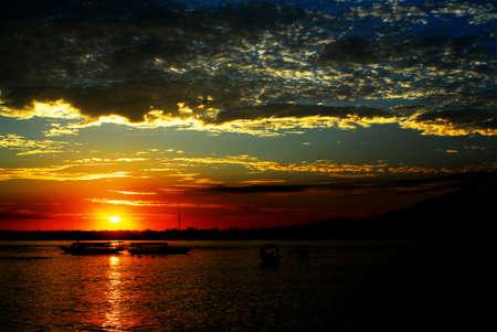 Gili trawangan island beach lombok Indonesia