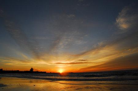 Panjang beach Bengkulu Indonesia Stock fotó