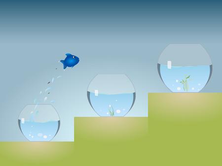 Aquarium Advancement Stock Vector - 8728009