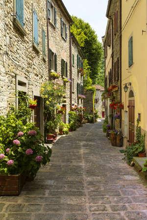 Beautiful small street provincial Italy photo