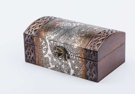karat: Retro box is encrusted with object