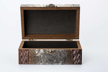 carat: Retro box is encrusted with object