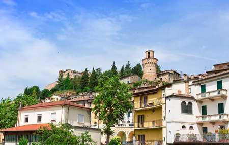 clock tower: The clock tower in the provincial town of Italy