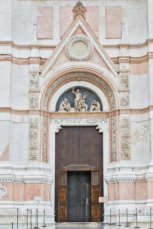 lambrusco: Entrance to the Temple, Bologna, Italy Stock Photo
