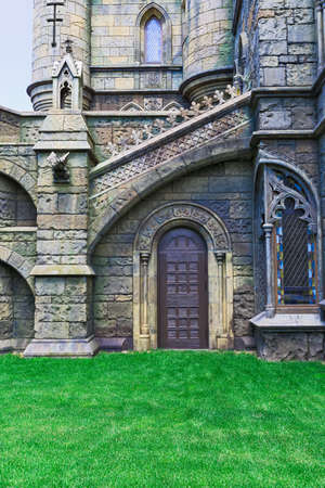 built in: Castle built in a historical the style