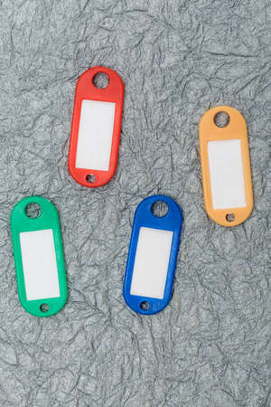 blank tag: collection of a key fob