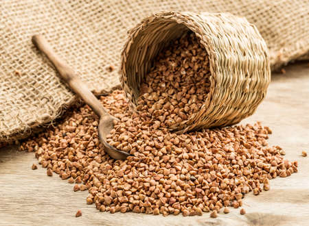 articles: Buckwheat groats and household articles