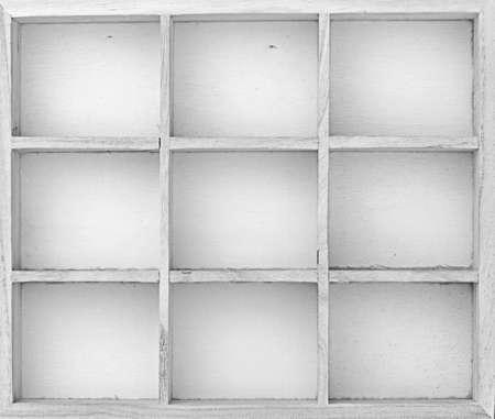 typesetter: empty box for different stuff. Black - white.