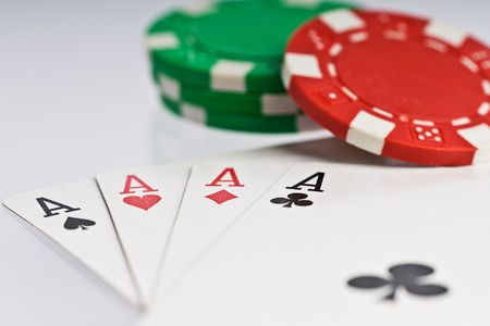 poker cards and chips Stock Photo - 6702762