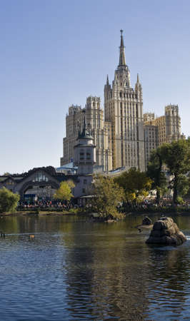 xx century: Moscow, high rize building of 30-ties of XX century.