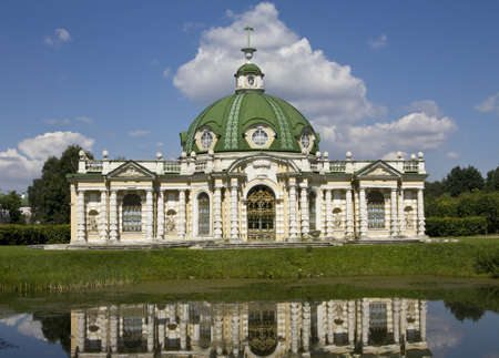 Moscow, Russia - June 19, 2010: Palace Grotto in mansion Kuskovo in Moscow. Stock Photo - 12936046