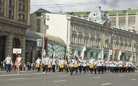 Moscow, Russia - September 01, 2012: international festival of military orchestras  Stock Photo - 15103583
