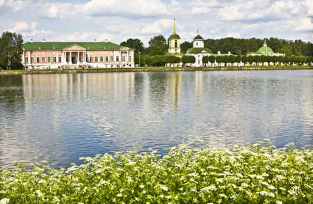 kuskovo: Moscow, Russia - June 19, 2010: palace of earl Sheremetyev in Kuskovo. Editorial
