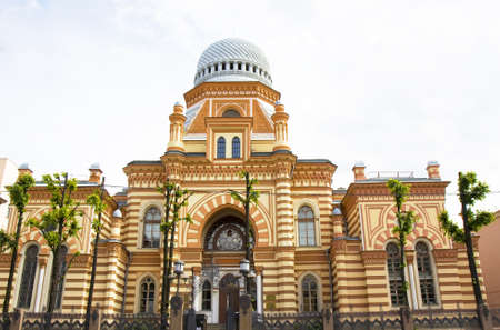 St. Petersburg, Russia - Big synagogue.