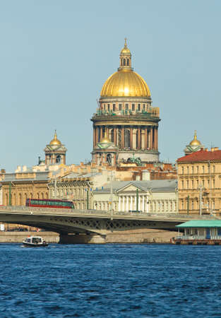 Cathedral of St. Isaac - the biggest cathedral of Saint Petersburg, Russia. photo