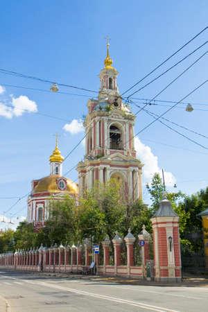 martyr: Moscow, orthodox church of Nikita Martyr on Old Basmannaya street.