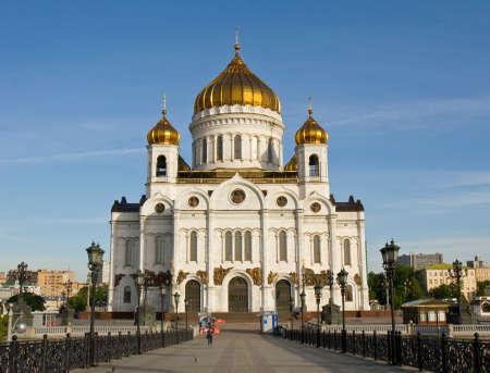 saviour: MOSCOW - MAY 15, 2014: cathedral of Jesus Christ Saviour.